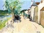 Quay at Saint-Mammes