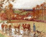 The Return of the Herd after the Rain (Creuse)