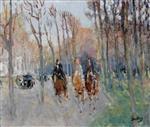 Riders in Bois de Boulogne