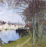 River Scene at Saint-Mammes