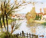 A Village by the River