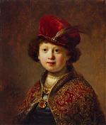 A Boy in Fanciful Costume (workshop)