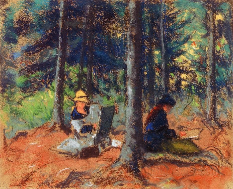 Artists in the Woods