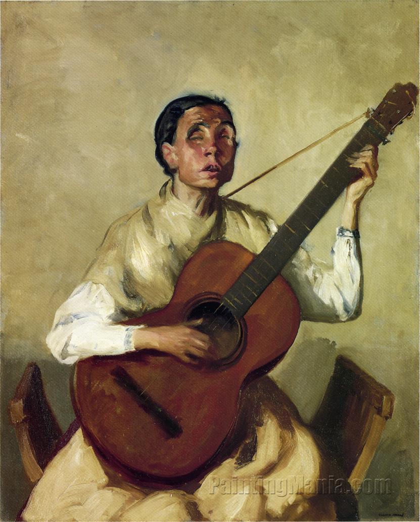 Blind Spanish Singer