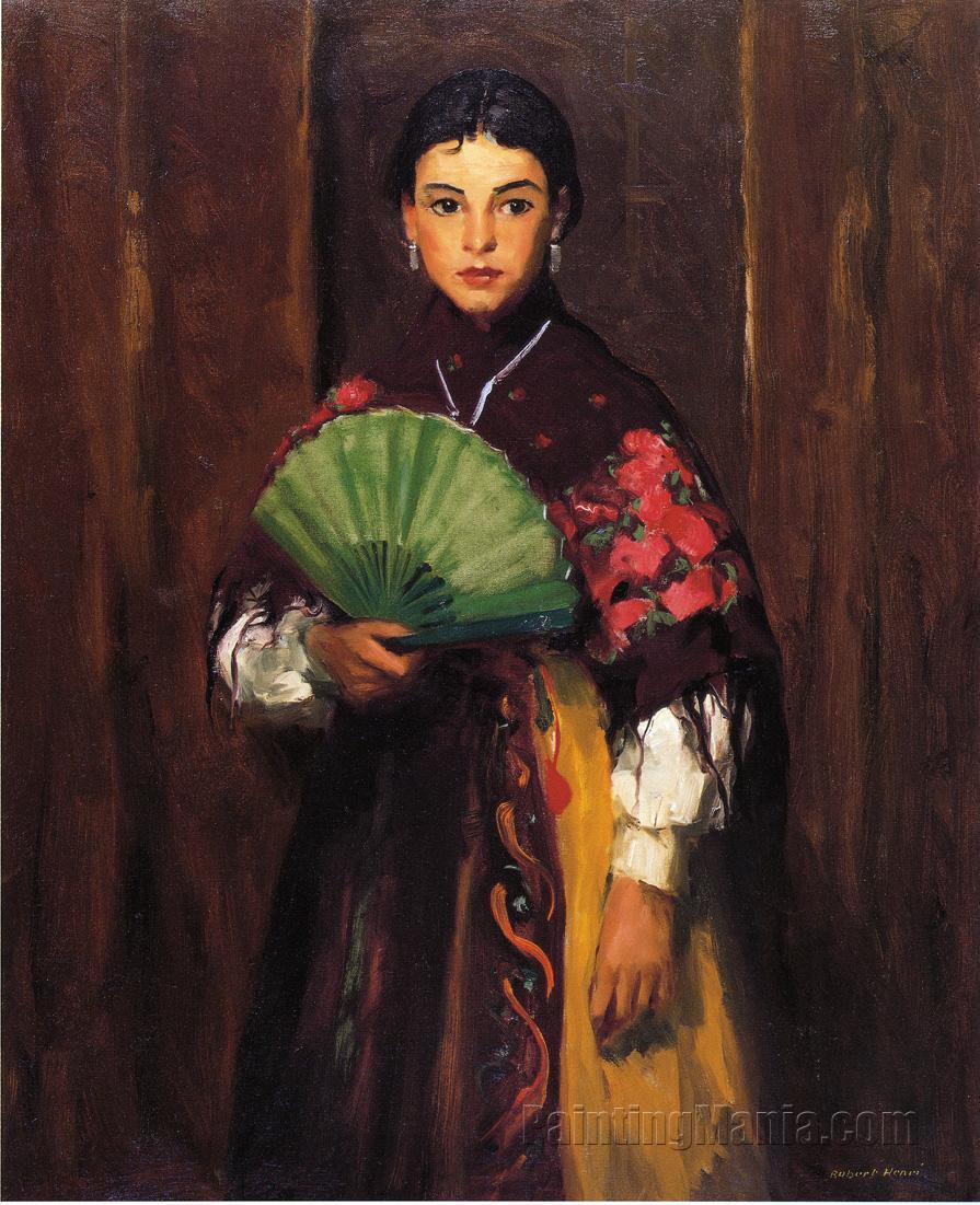 Spanish Girl of Segovia (Peasant Girl of Segovia)