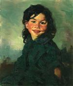 Laughing Gypsy Girl