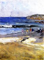 Beach Scene 1890