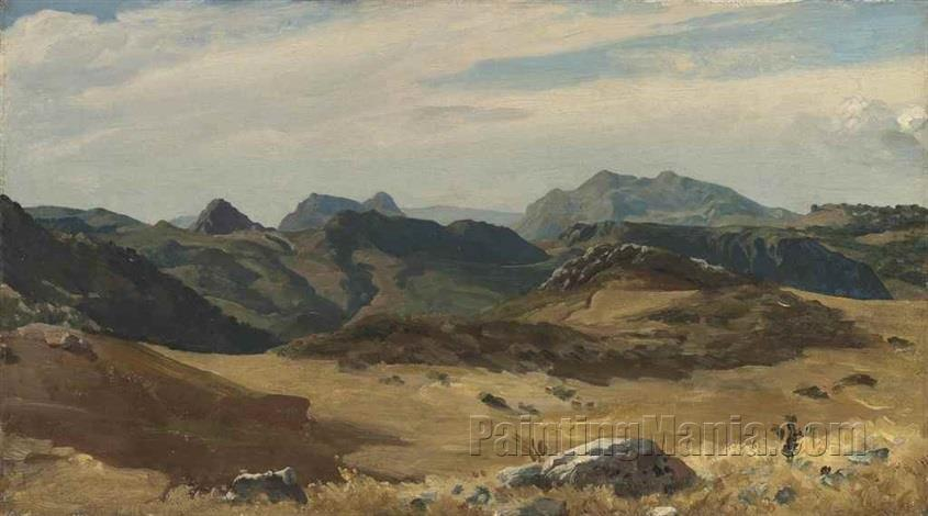 A Mountainous Landscape, Spain