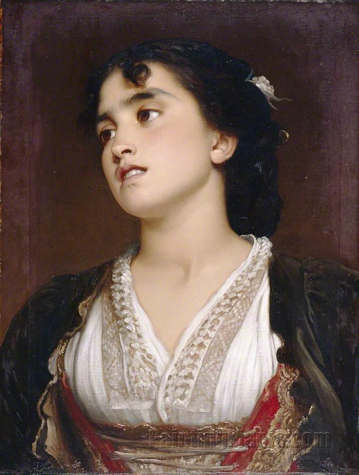 A Roman Peasant Girl
