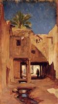 Courtyard in Algiers