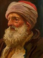 Head of an Elderly Arab