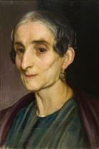 Head of an Old Italian Woman