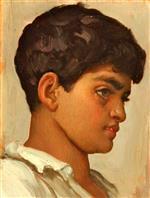 Head of Spanish Boy