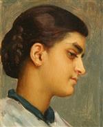 Head of Spanish Girl