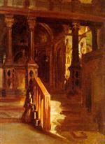 Interior of St. Mark's, Venice