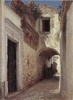 A Street Scene, Capri