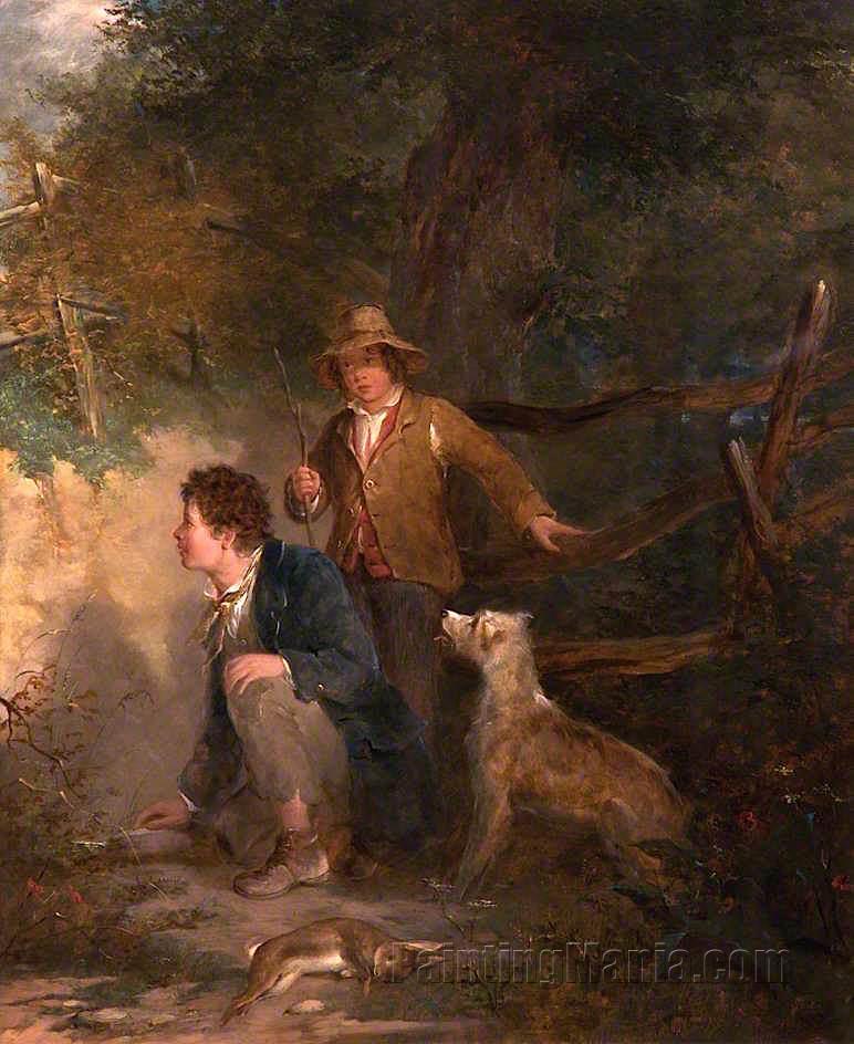 Boys Rabbiting
