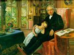 James Wyatt and His Grandaughter Mary