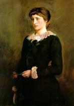 A Jersey Lily (Portrait of Lillie Langtry)