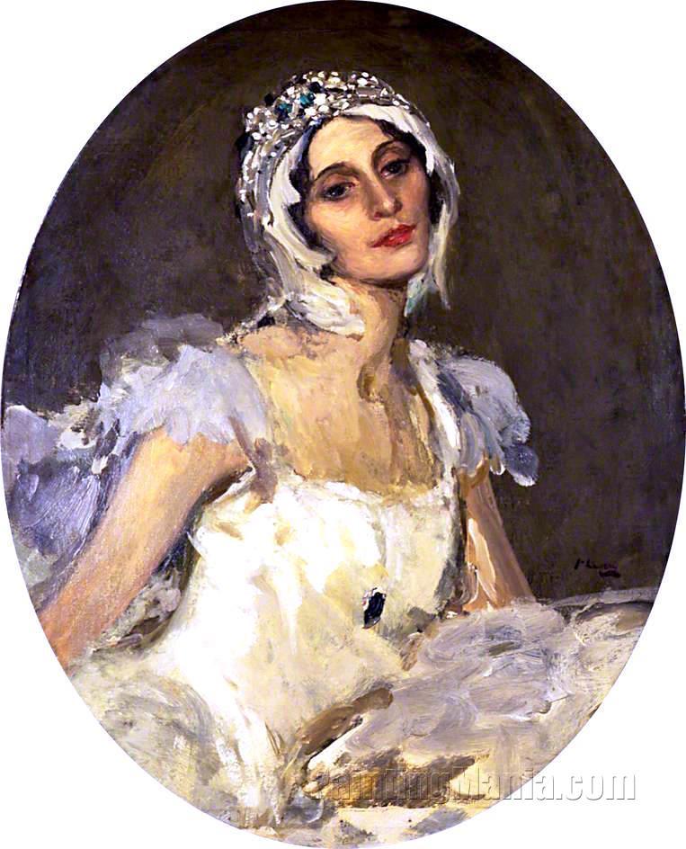 Anna Pavlova as 'The Dying Swan'