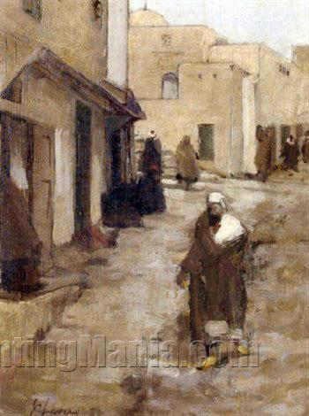 An Eastern Street Scene