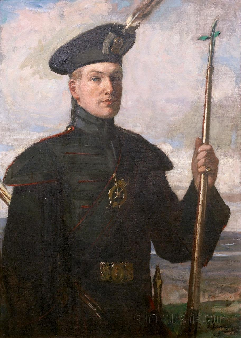 Sir Patrick Ford in the Uniform of a Royal Archer
