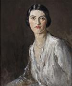 Portrait of Katherine Fitzgerald, the Artist's Secretary