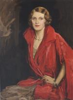 Portrait of Mrs. James V. Rank