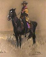 R. B. Cunninghame-Graham of Ardoch on His Argentinian Pony