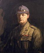 Winston Churchill, Wearing a French Poilu's Steel Helmet