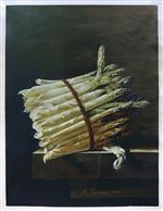 Bunch of Asparagus by Adraiene Coorte