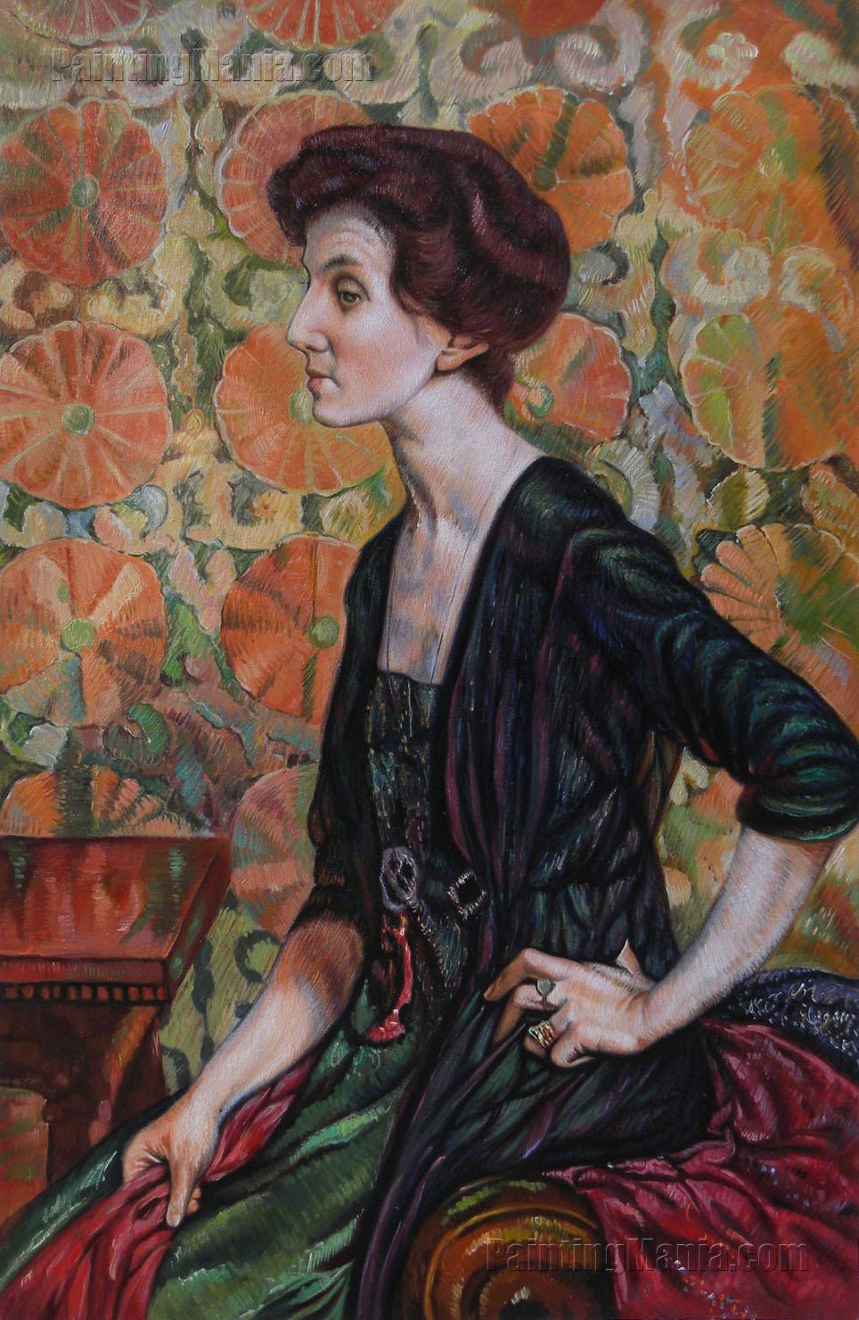 Portrait of Else Lampe Von Quita