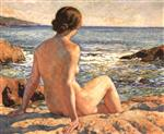 Bather on the Sea