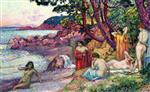 Bathers at Cap Benat
