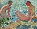 Bathers (Les baigneuses)