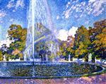 Fountain at Sans-Souci, Potsdam
