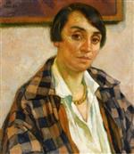 Portrait of Elizabeth van Rysselberghe 1926