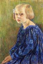 Portrait of Elizabeth van Rysselberghe