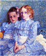 Portrait of Helene and Michette Guinotte