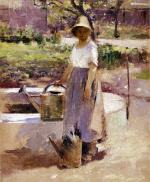 At the Fountain 1890