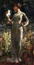 A King's Daughter (Girl with Lilies)