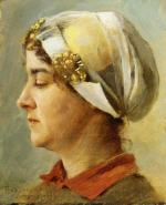 Woman with White Cap