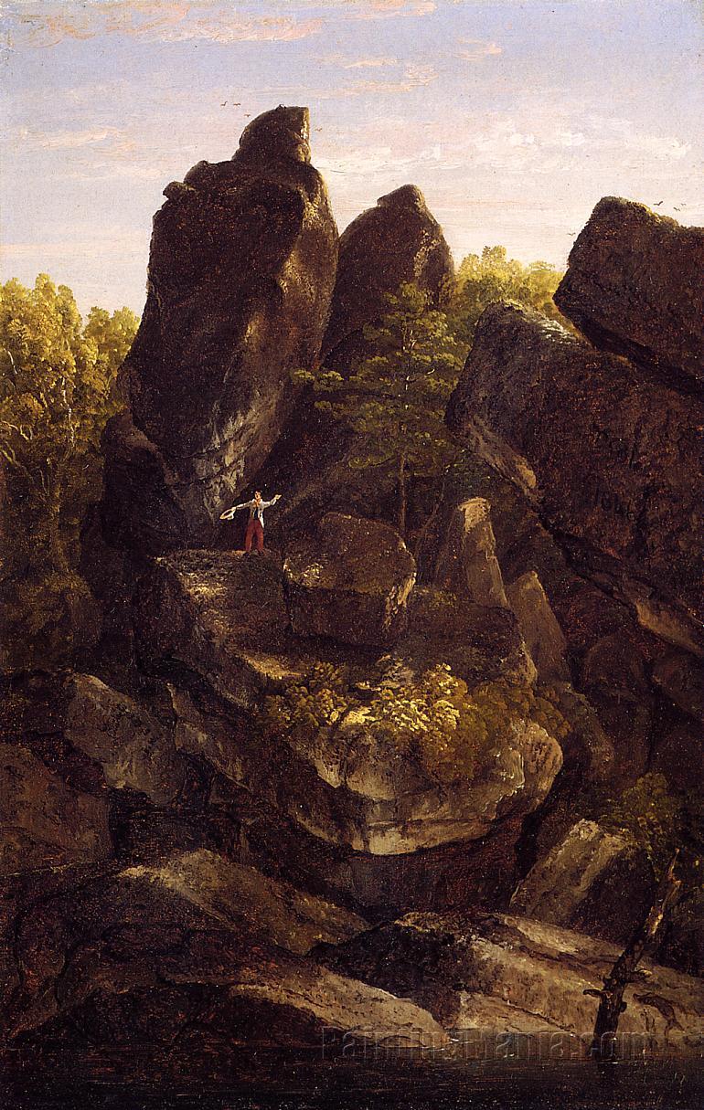 A Rocky Glen (In the Shawangunks)