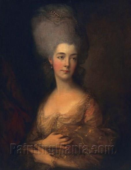 Anne Luttrell, Duchess of Cumberland 1777