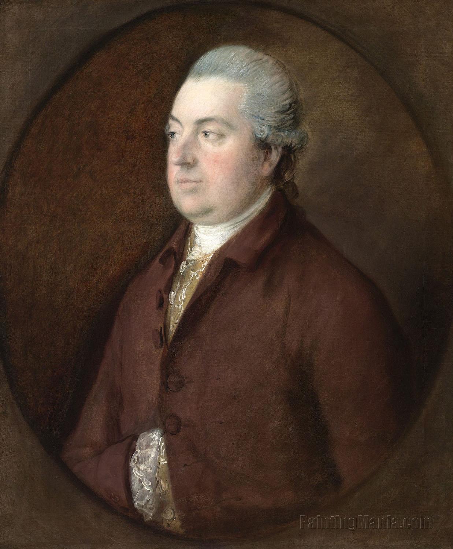 Portrait of Francis Bennett (1712-1790)