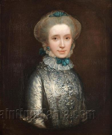 Portrait of Lady Caroline Draper