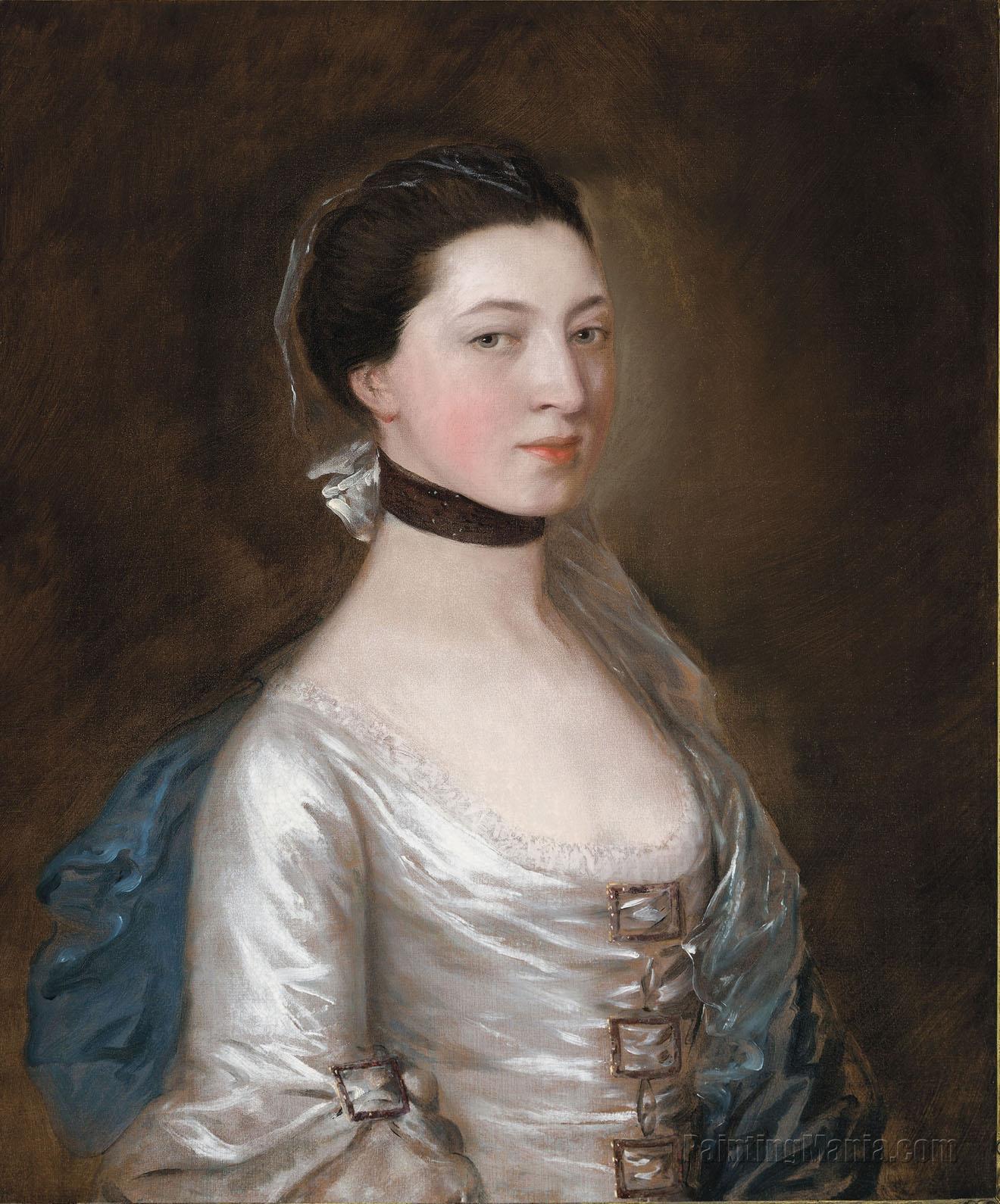Portrait of Winifred Silvertop, Mrs John Wright