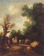 Landscape with Country Carts