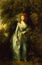 Portrait of a Lady with Red Hair