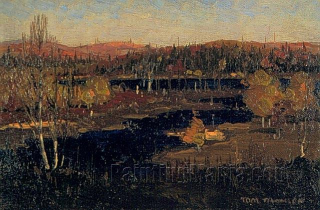 Autumn Evening, Burnt Land